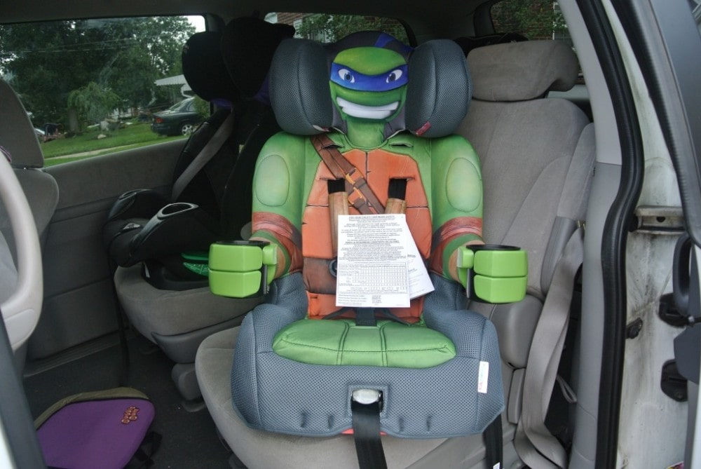 Enter to win a TMNT Kids Embrace Car Seat #Giveaway ends 9/21