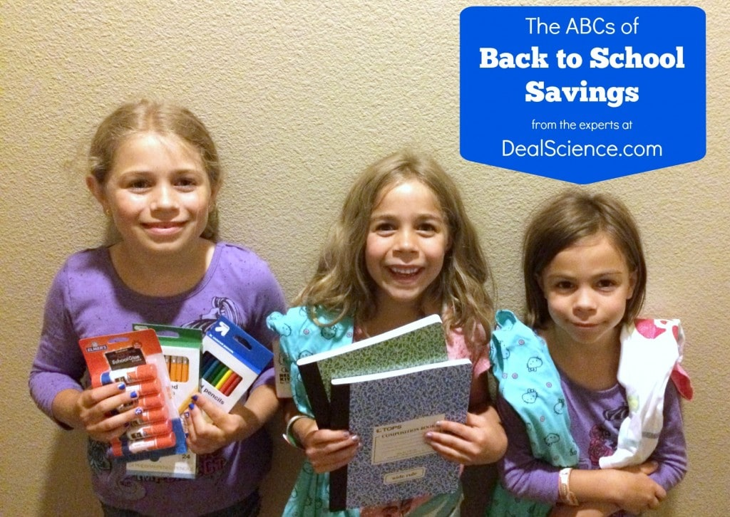 The ABCs of Back to School Savings from DealScience.com