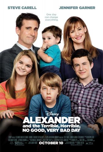 New ALEXANDER AND THE TERRIBLE, HORRIBLE, NO GOOD, #VERYBADDAY Before and After Posters