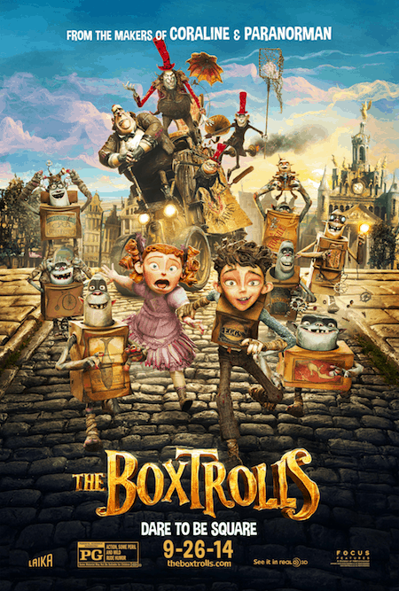 The Boxtrolls Official Movie Poster Now Available