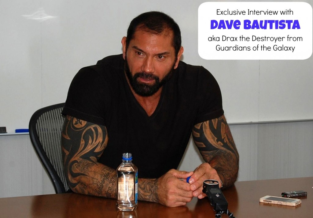 "From WWE to ""Drax the Destroyer"" Exclusive Interview with Dave Bautista #GuardiansoftheGalaxyEvent"