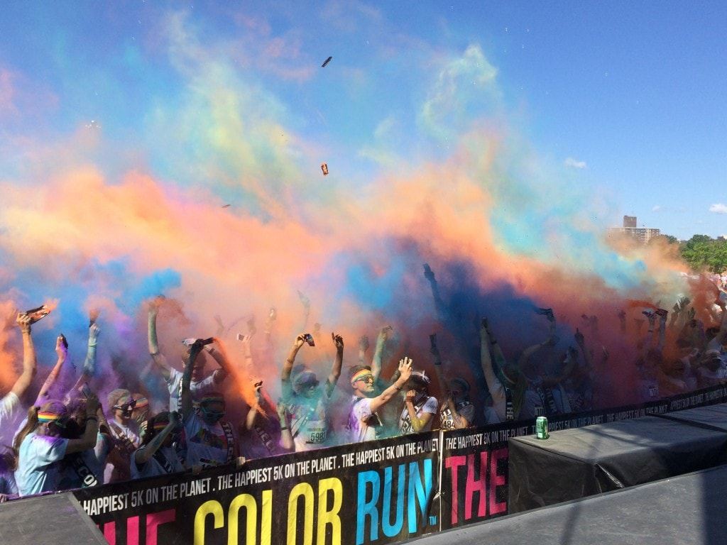 Join me at the Color Run in Portland as Part of Team Shout