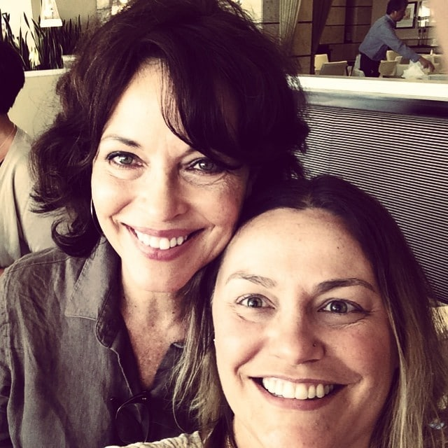 Mary Page Keller and Me at the Chasing Life Meet and Greet Breakfast