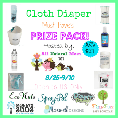 Enter the Cloth Diaper Must Haves #Giveaway ends 9/10