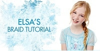 Learn how to do hair like Elsa and Anna in Disney's #Frozen