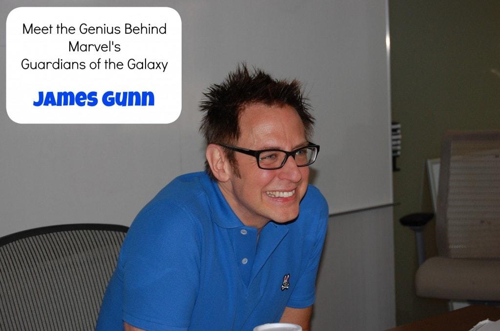 James Gunn Guardians of the Galaxy Interview