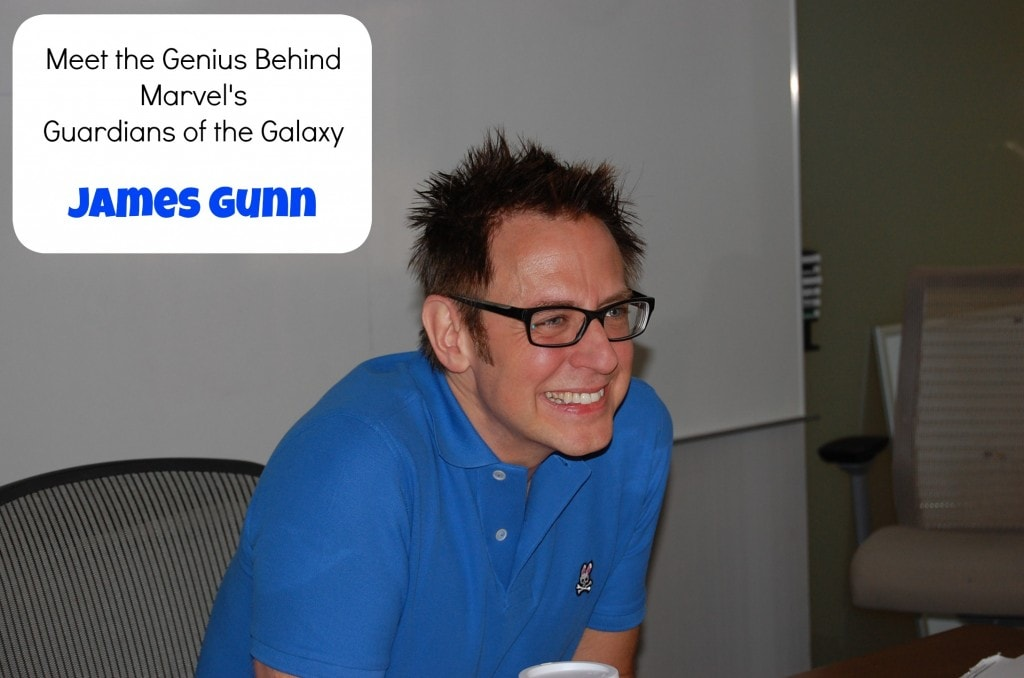 James Gunn Exclusive Interview #GuardiansoftheGalaxyEvent
