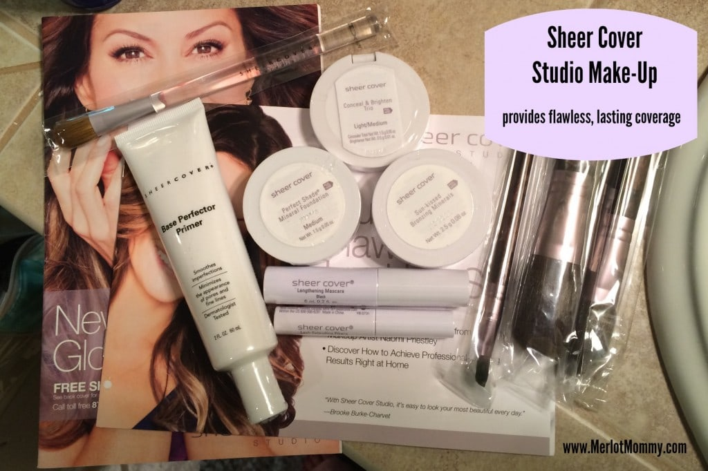 Sheer Cover Studio Make-Up {Review} #FlawlessFinish @SheerCover #giveaway