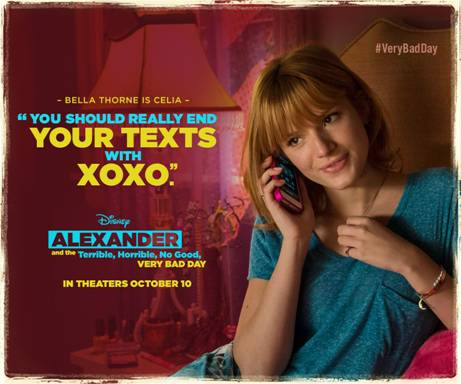 New Shareables from ALEXANDER AND THE TERRIBLE, HORRIBLE, NO GOOD, #VERYBADDAY