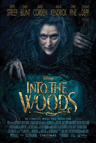 New Disney's INTO THE WOODS Movie Poster #IntotheWoods