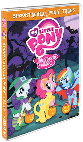 """My Little Pony """"Friendship is Magic: Spooktacular Pony Tales"""" Now on DVD"""