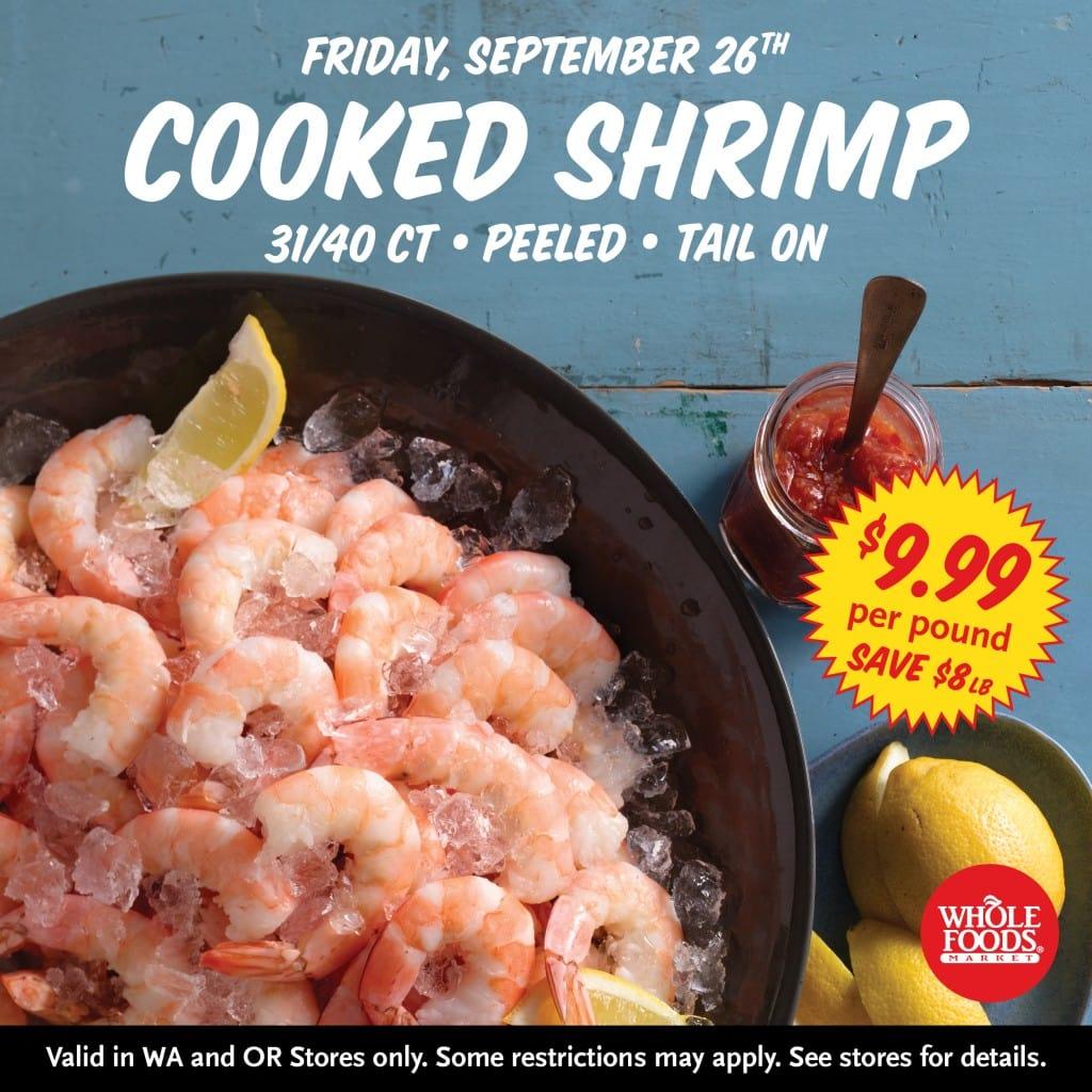 Pound Of Shrimp Whole Foods