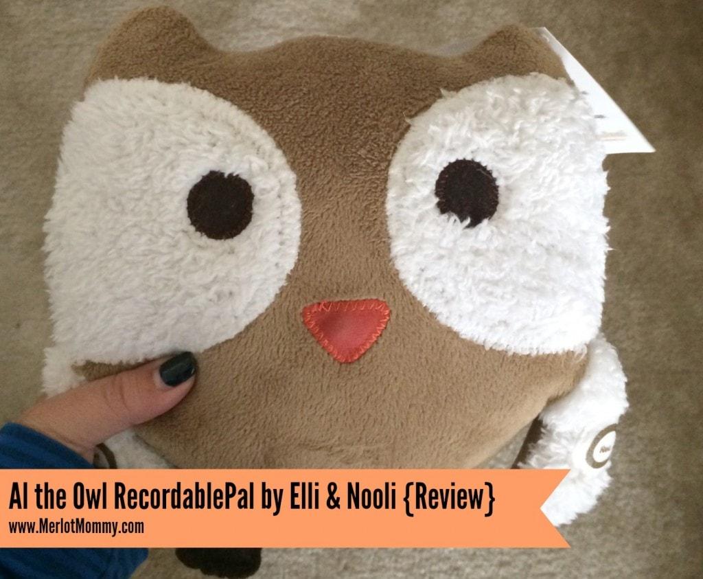 Al the Owl RecordablePal by Elli & Nooli