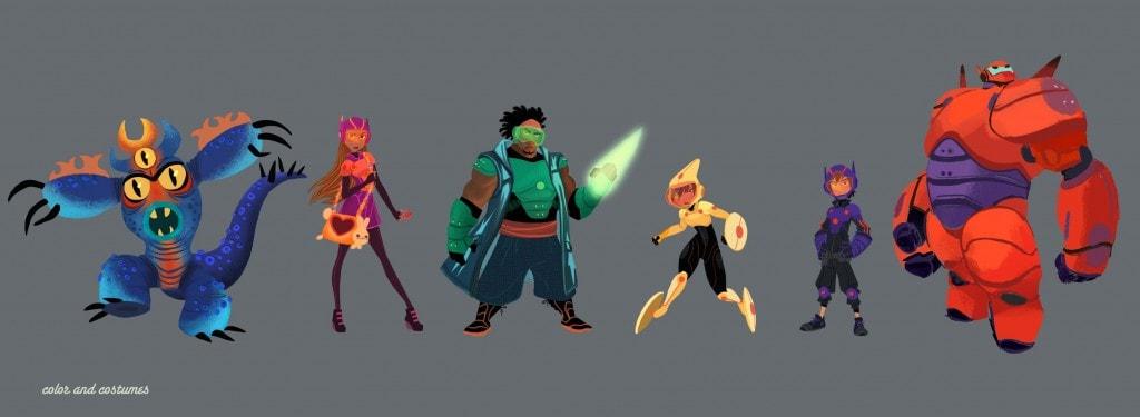 big-hero-6-visdev-character-Lineup 2-1