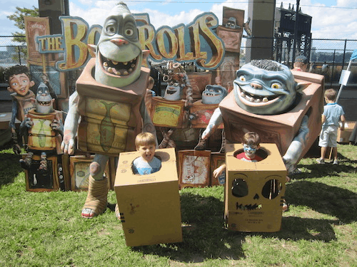 Come Take Part in The Boxtrolls Cardboard Challenge