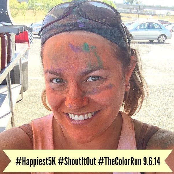 The COlor Run #Happiest5k #ShoutitOut