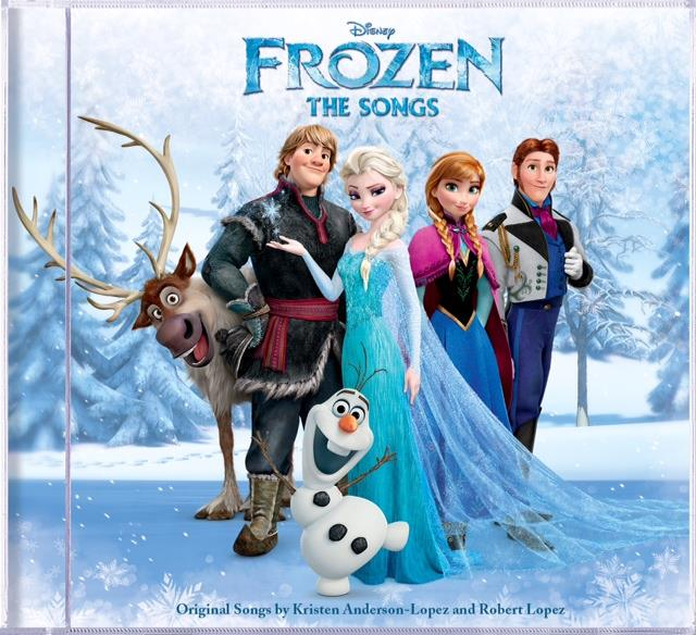Disney Frozen: The Songs CD