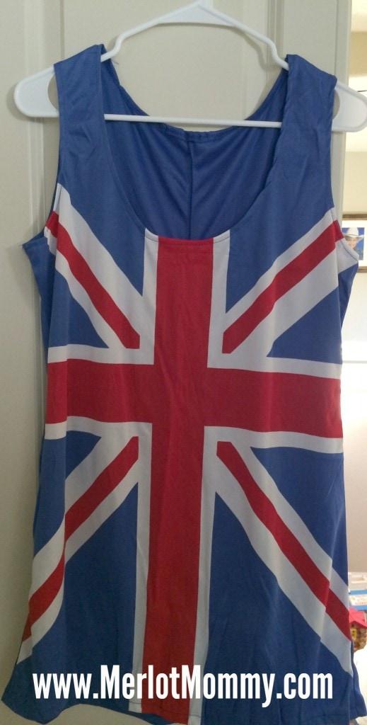 Fright Catalog Sexy Union Jack Dress