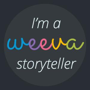 Weeva Storyteller Ambassador Badge