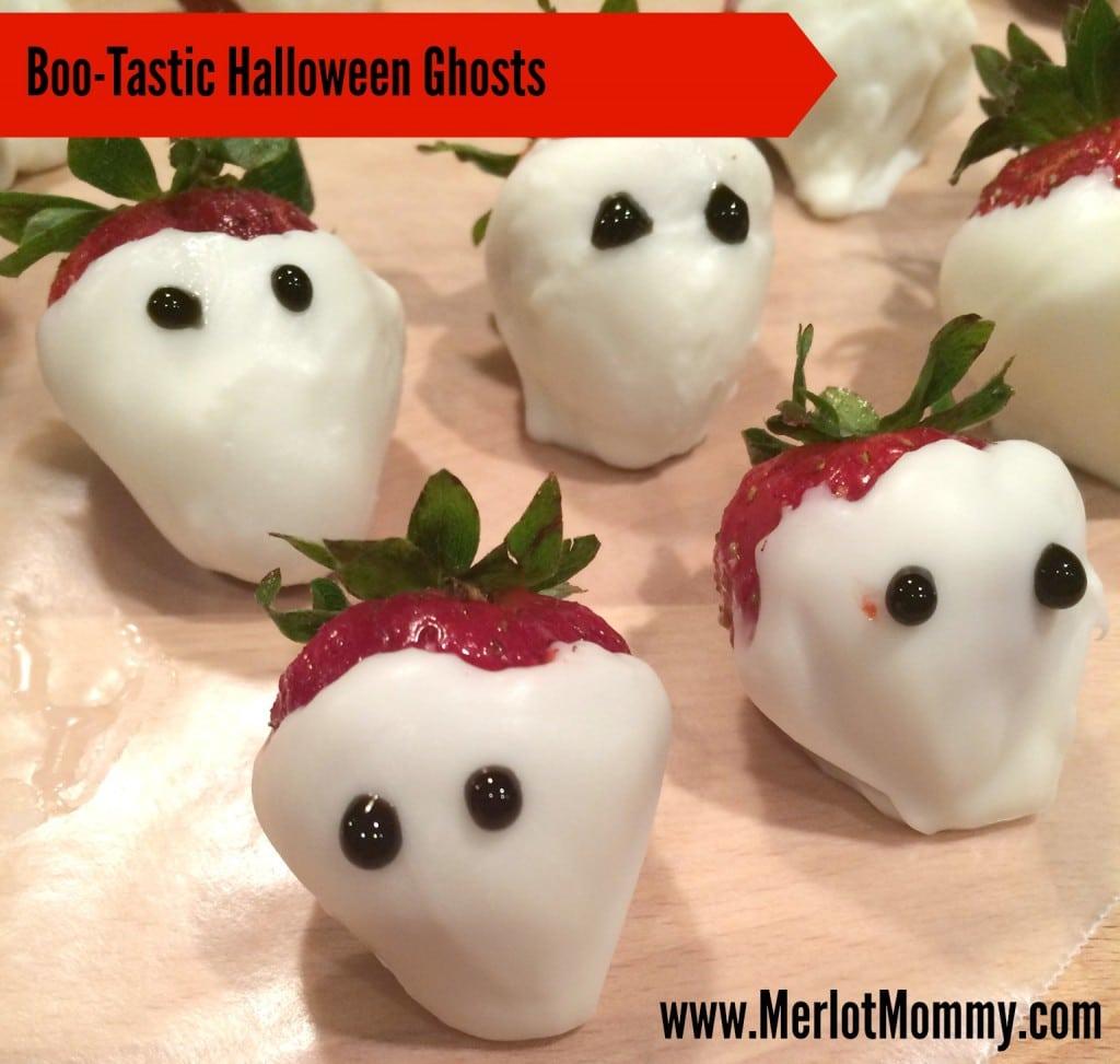 Boo-Tastic Halloween Ghosts