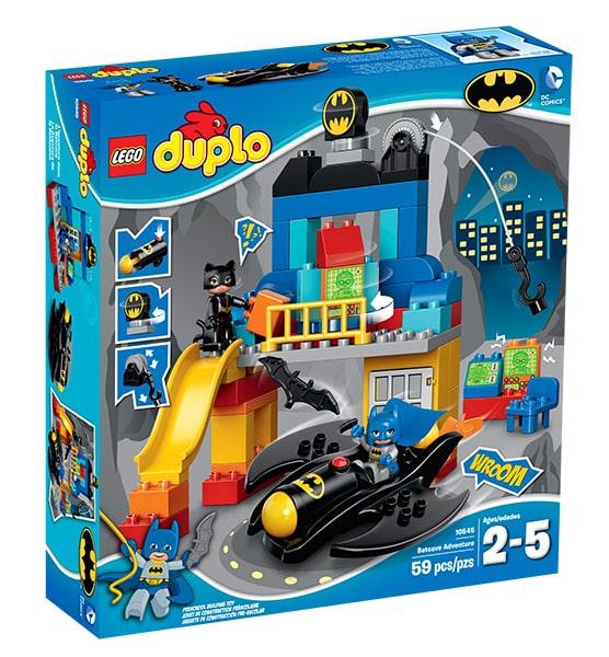 LEGO DUPLO Batcave Adventure set