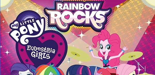 My Little Pony Equestria Girls: Rainbow Rocks on Blu-ray 10/28 {Review}