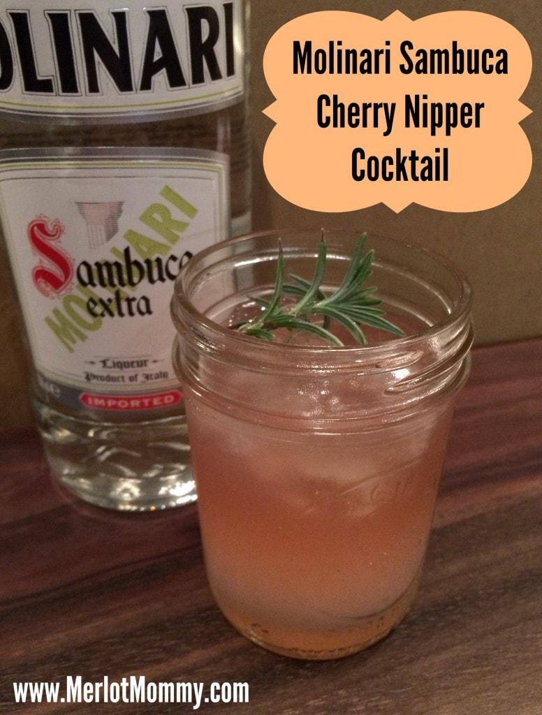 Sambuca Cherry Nipper Cocktail