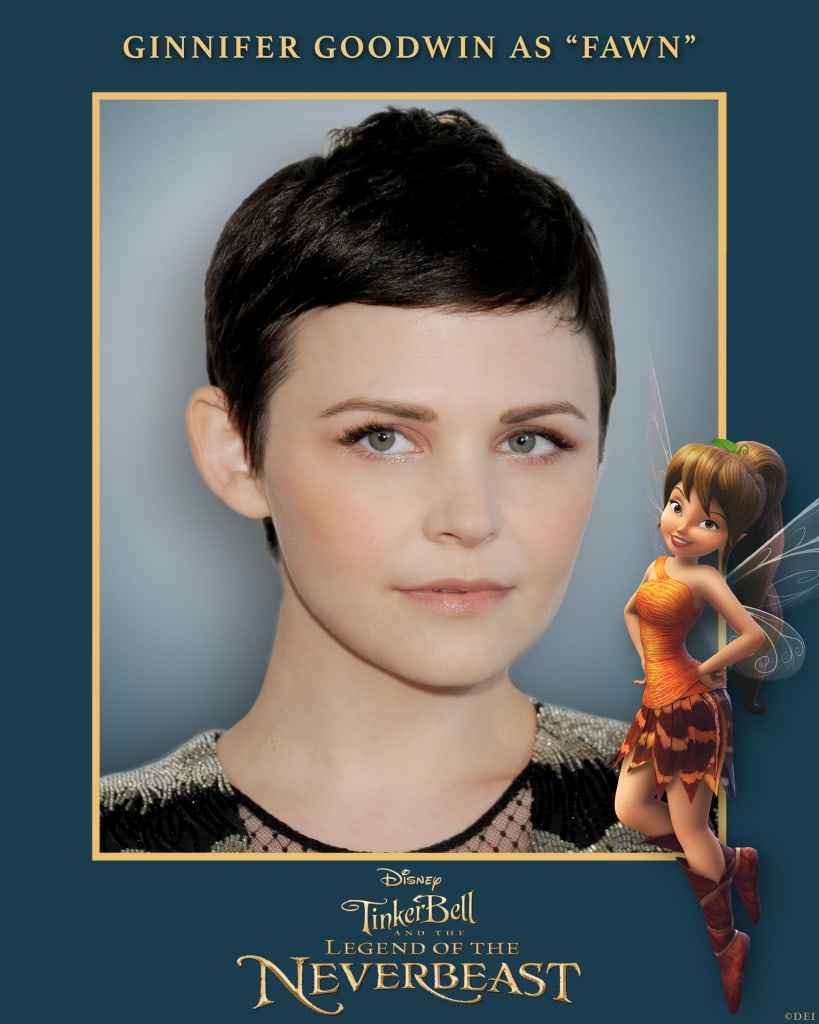 """Ginnifer Goodwin as Tinkerbell in """"Tinker Bell and the Legend of the Neverbeast"""""""