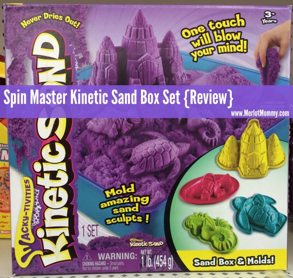 Spin Master Kinetic Sand Box Set {Review}