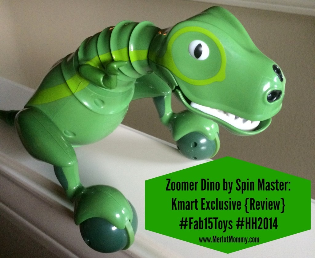 Zoomer Dino by Spin Master: Kmart Exclusive {Review} #Fab15Toys #HH2014