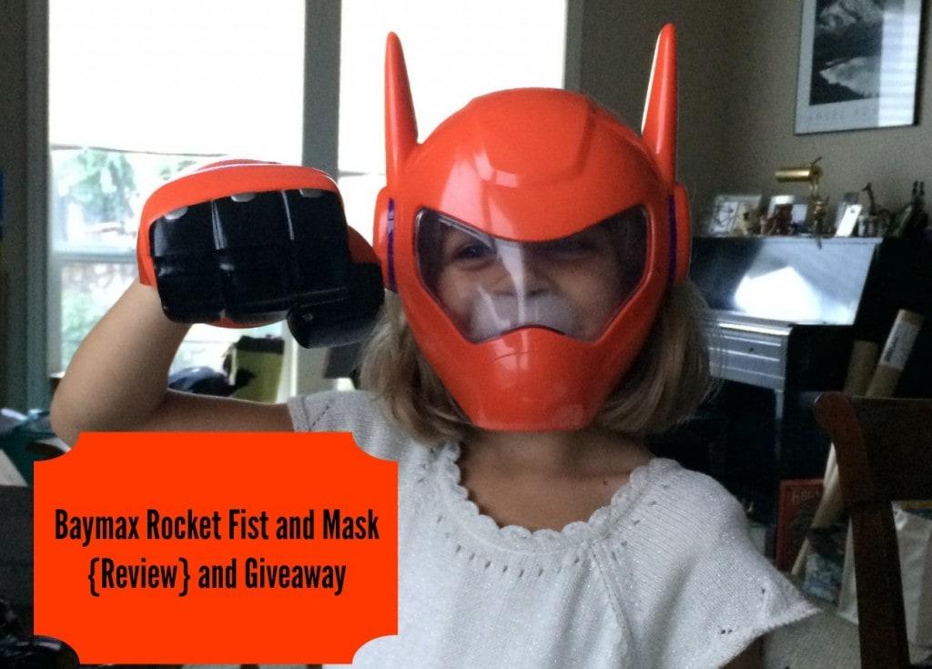 Baymax Toys: Baymax Rocket Fist and Mask