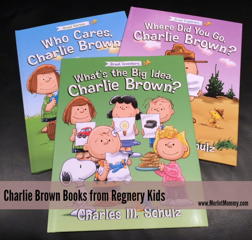 Charlie Brown Books from Regnery Kids #Peanuts #HH2014