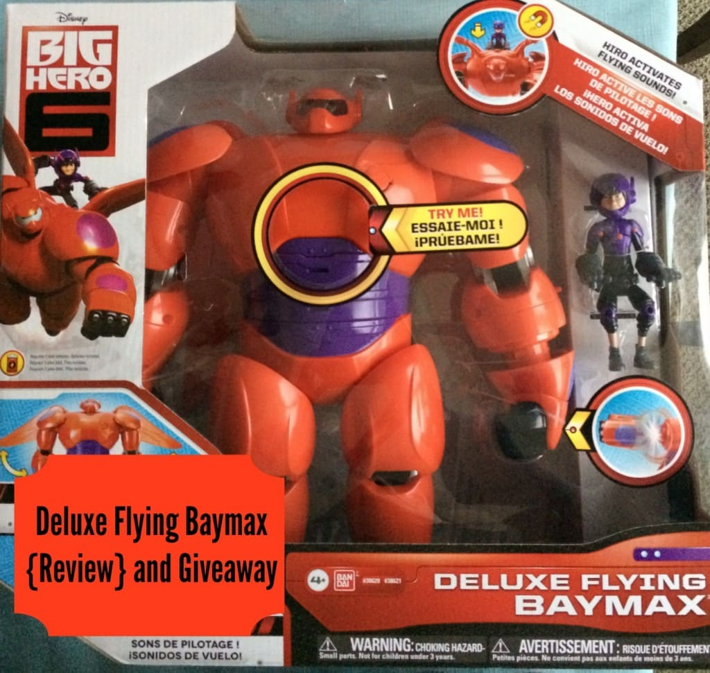 Baymax Toys: Deluxe Flying Baymax