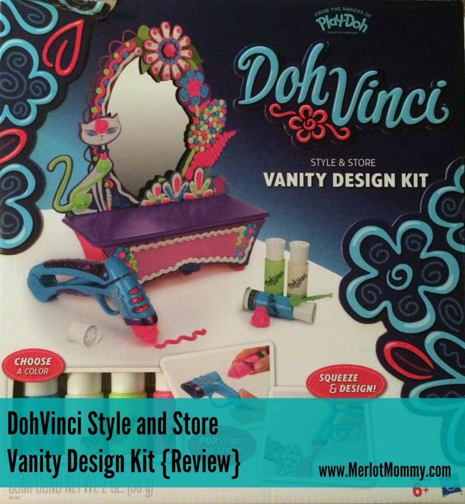 DohVinci Style and Store Vanity Design Kit {Review}