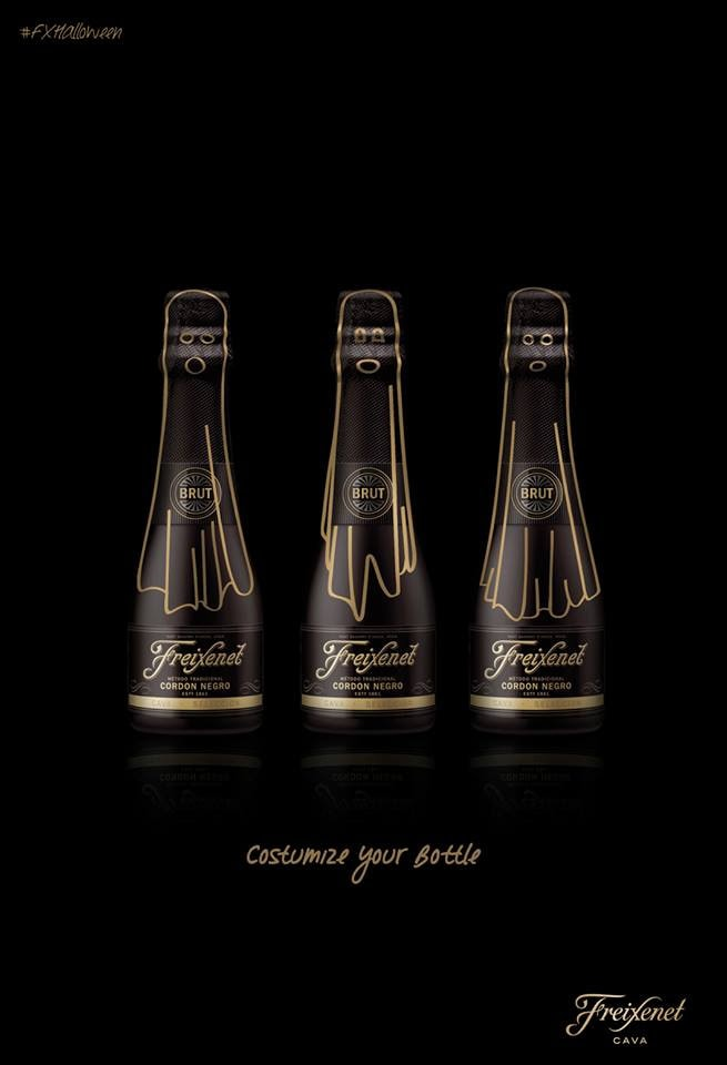 Embrace the Dark Side with Freixenet this Halloween