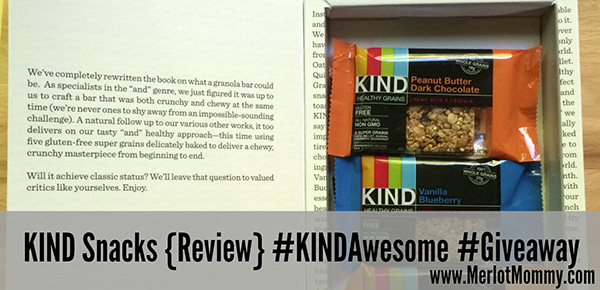 KIND Snacks {Review} and #Giveaway #KINDAwesome