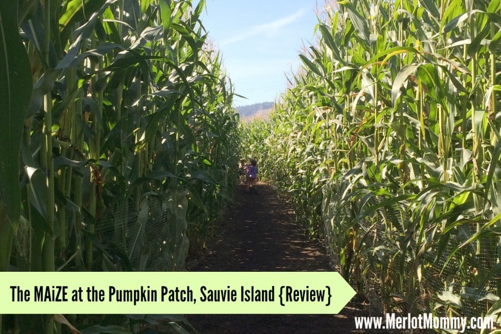 The MAiZE at the Pumpkin Patch {Review} #PDX #OR