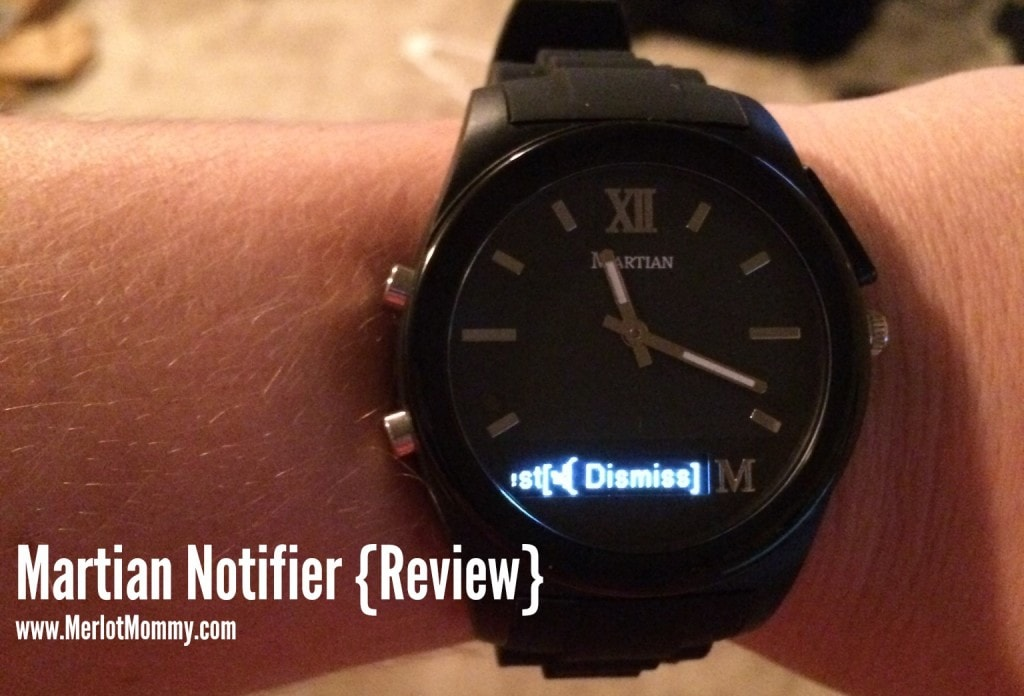 Get Smart with the Martian Notifier Watch {Review} and #Giveaway