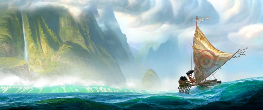 MOANA: New Disney Animated Film for 2016 Announced