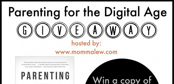 Parenting For The Digital Age + $25 Amazon Gift Card #Giveaway ends 11/4