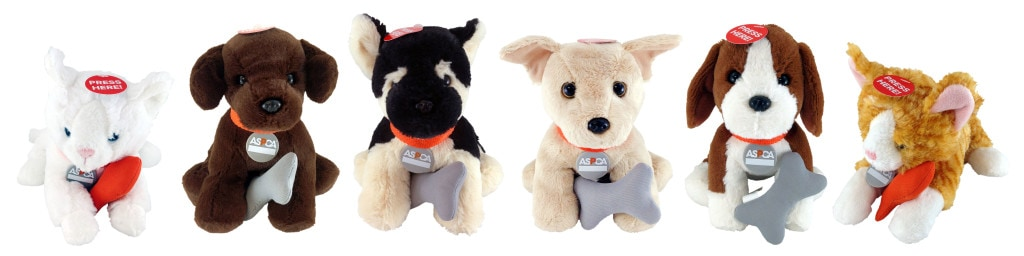 ASPCA Plush Animal Review and Giveaway