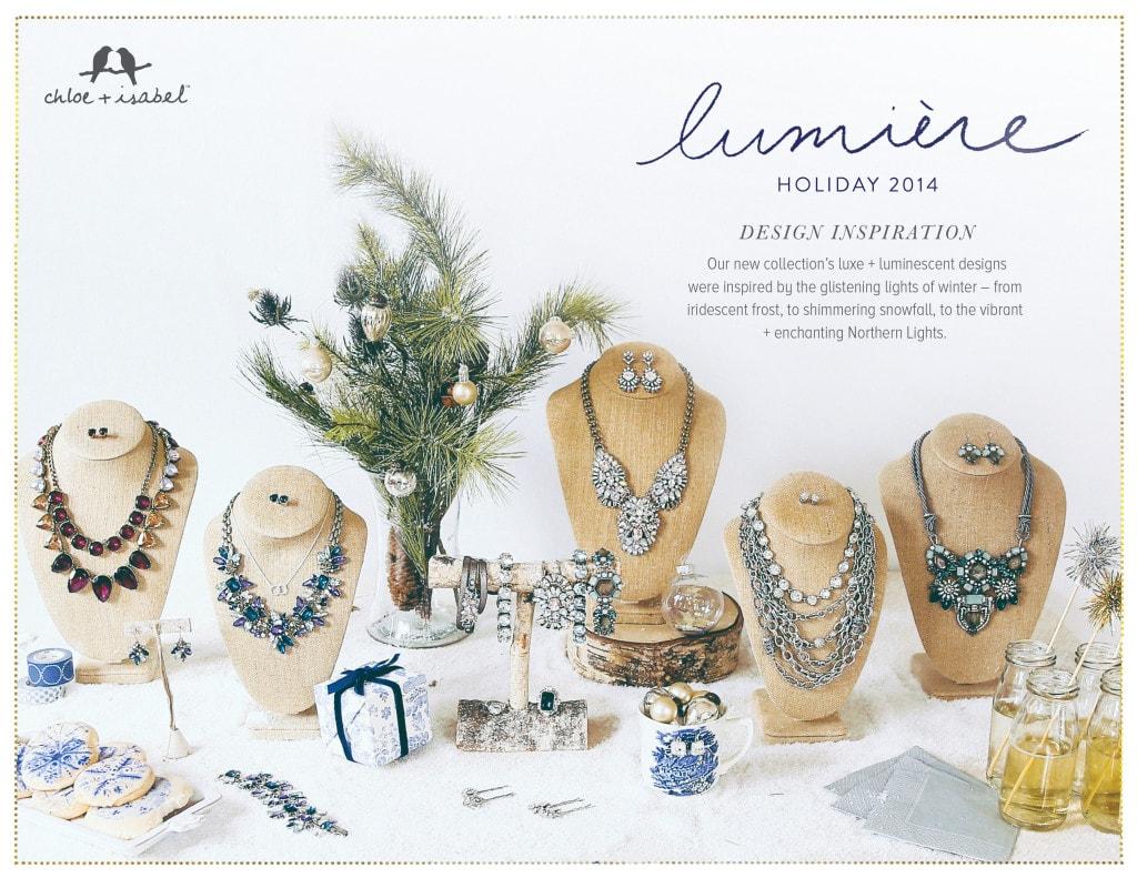 Chloe + Isabel Lumiere Holiday Design Inspiration