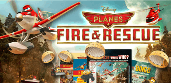 New Planes Fire and Rescue Free Printables and Activity Sheets