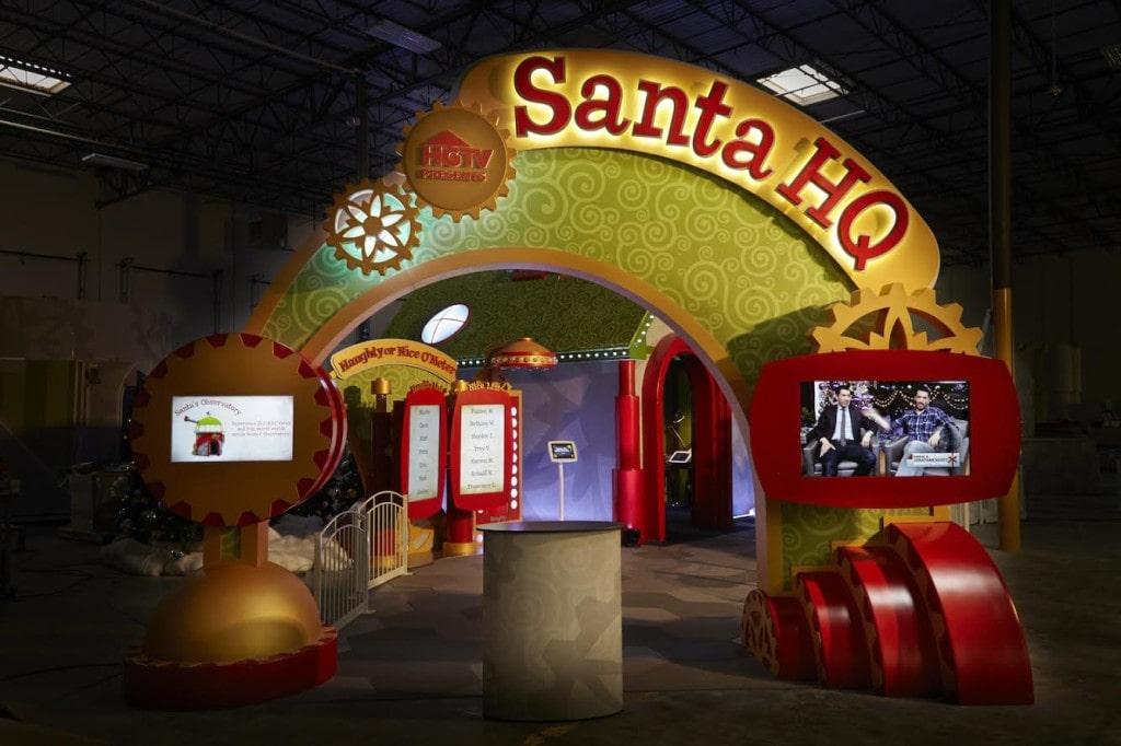 HGTV Santa HQ