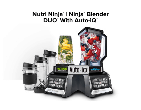 The Nutri Ninja | Ninja Blender DUO with Auto-iQ {Review} and #Giveaway ends 12/15