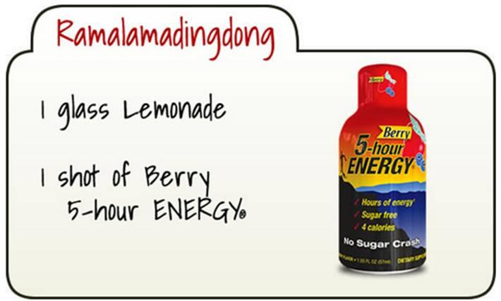 5-Hour Energy Yummification 2 Place
