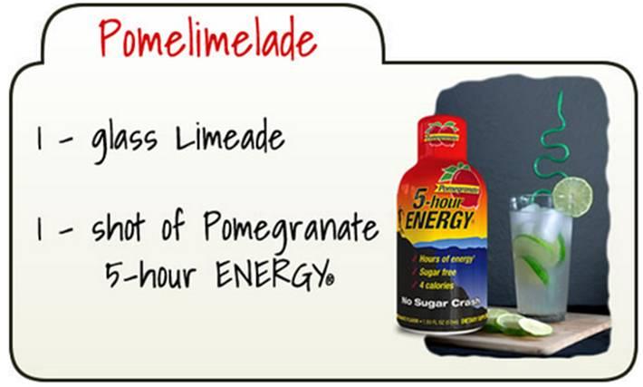5-Hour Energy Yummification Winning Recipe