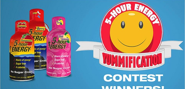 """Try the Winning """"Yummification"""" Recipes from 5-Hour Energy"""