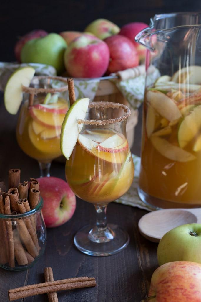 Zulka Sparkling Apple Cider Sangria