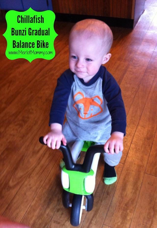 Chillafish Bunzi Gradual Balance Bike {Review} and #Giveaway ends 12/1